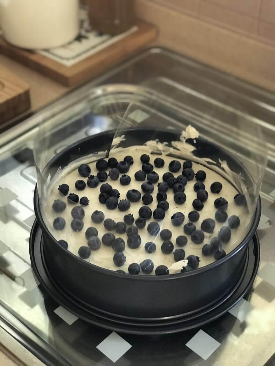 Čokoládový dort plnění 2