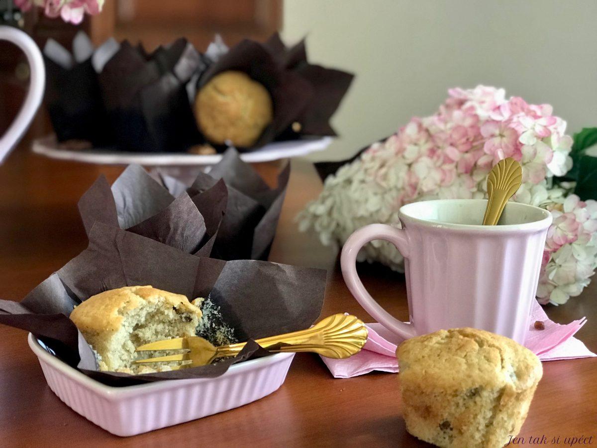 Hruškový muffin