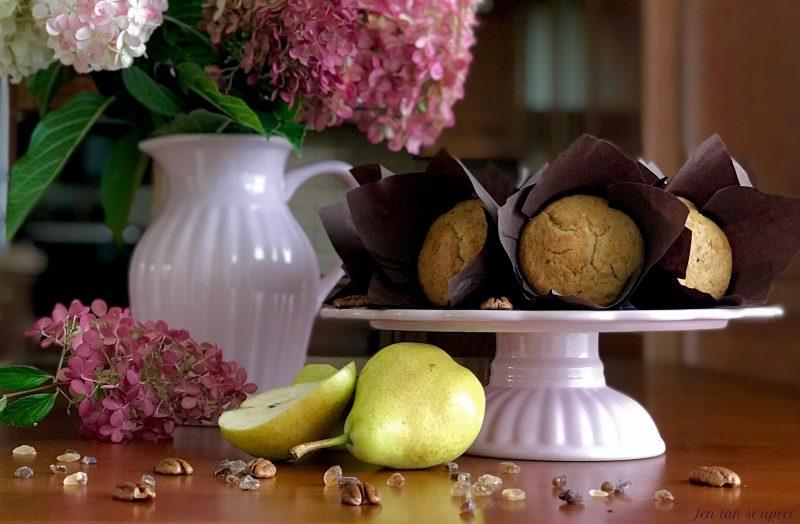 Hruškový muffin hlavní