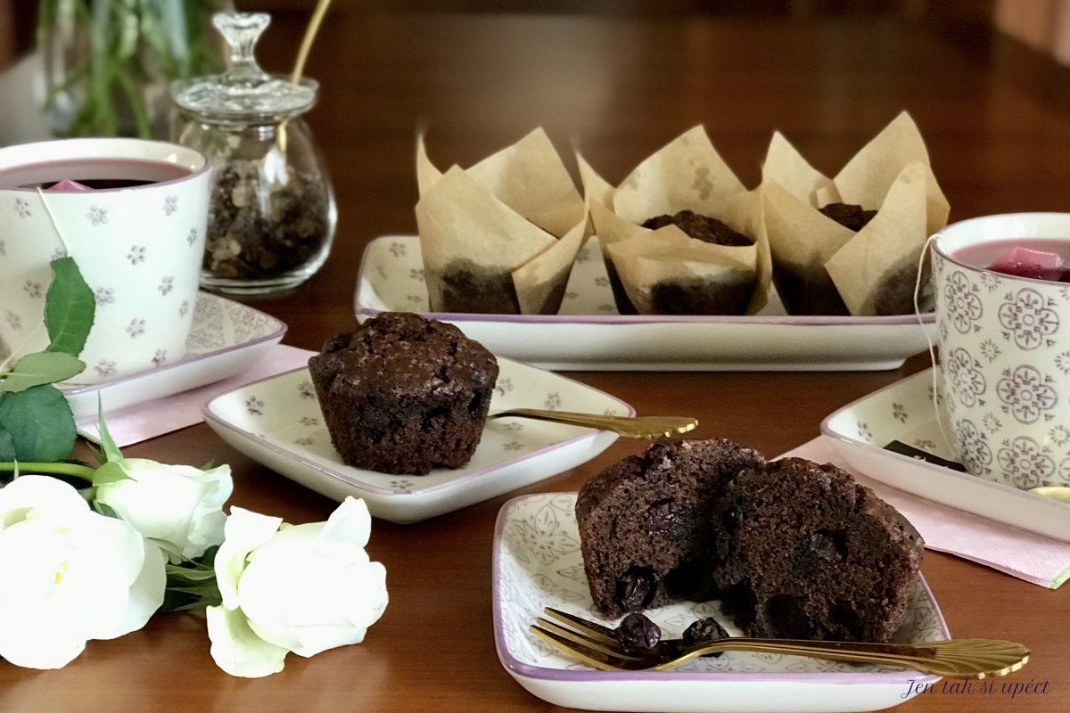 Kakaové muffiny z pohankové.. hlavní