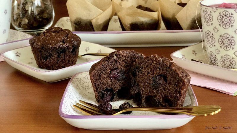 Kakaové muffiny z pohankové…pilot