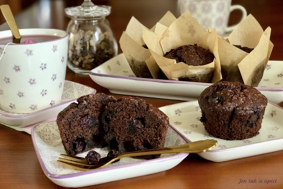 Kakaové muffiny z pohankové…závěr
