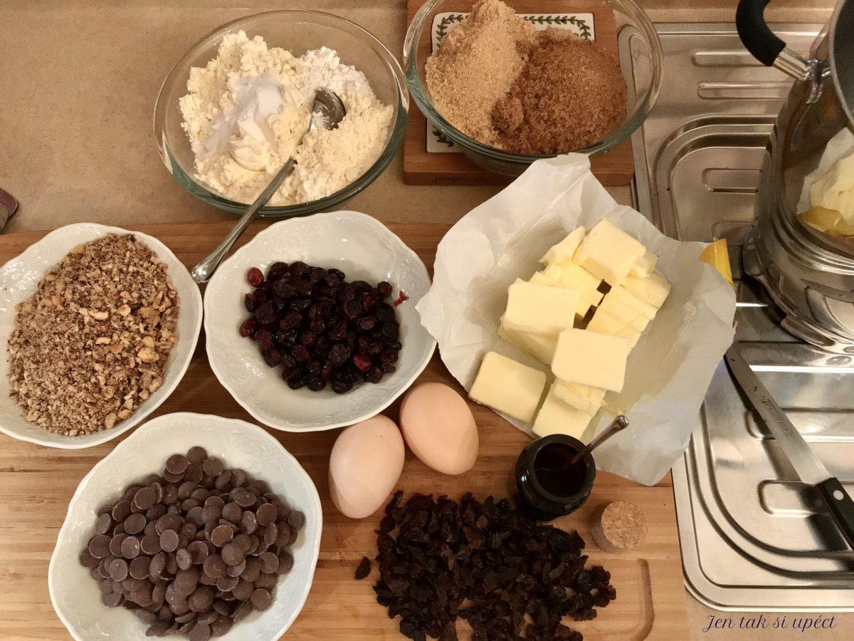 Mikolášské cookies suroviny