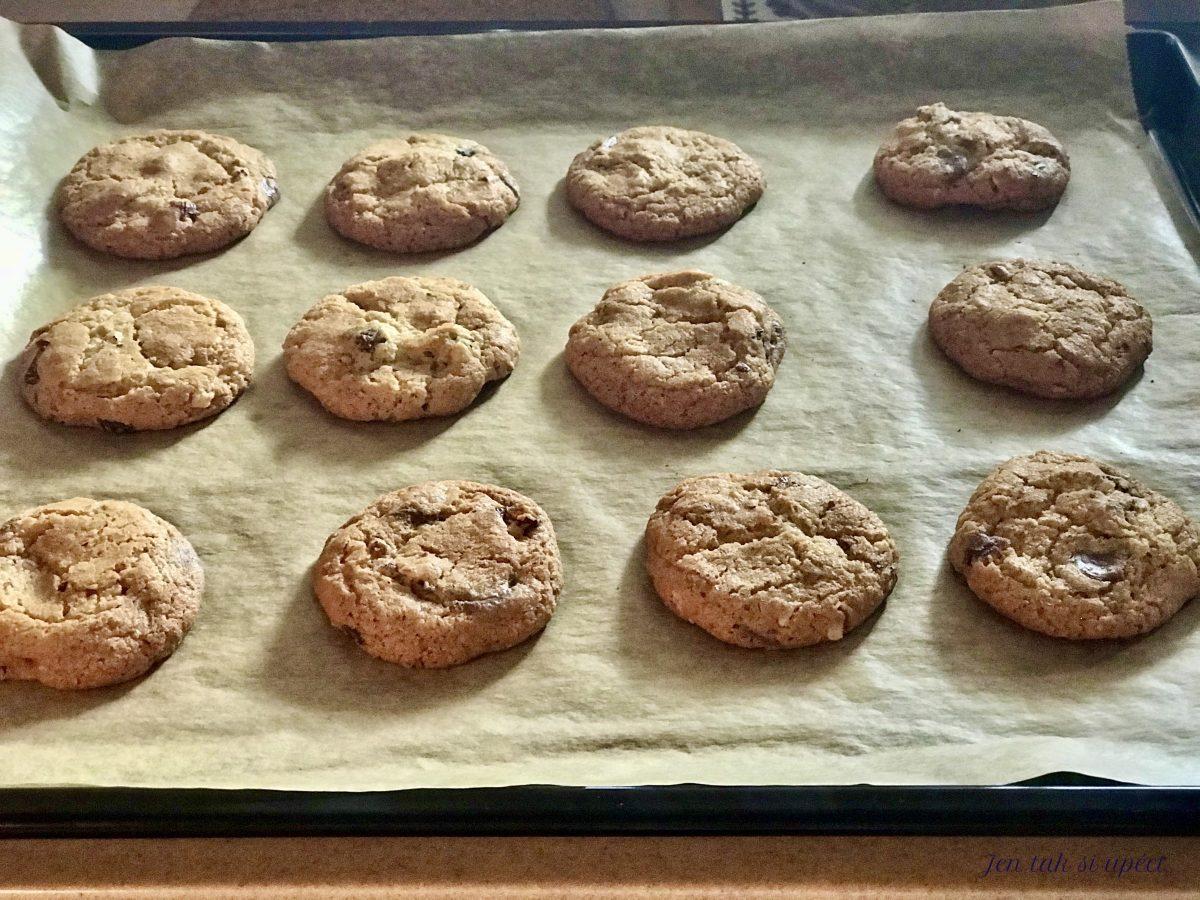Mikolášské cookies upečené cookies