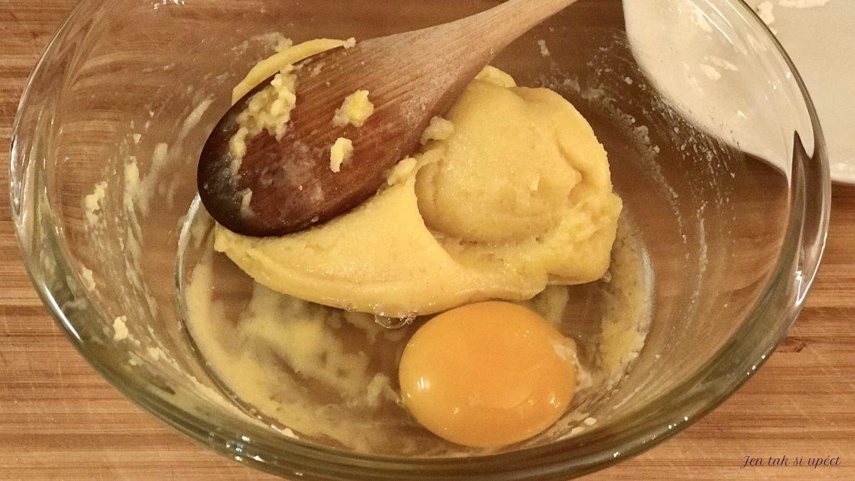 Profiteroles druhé vejce