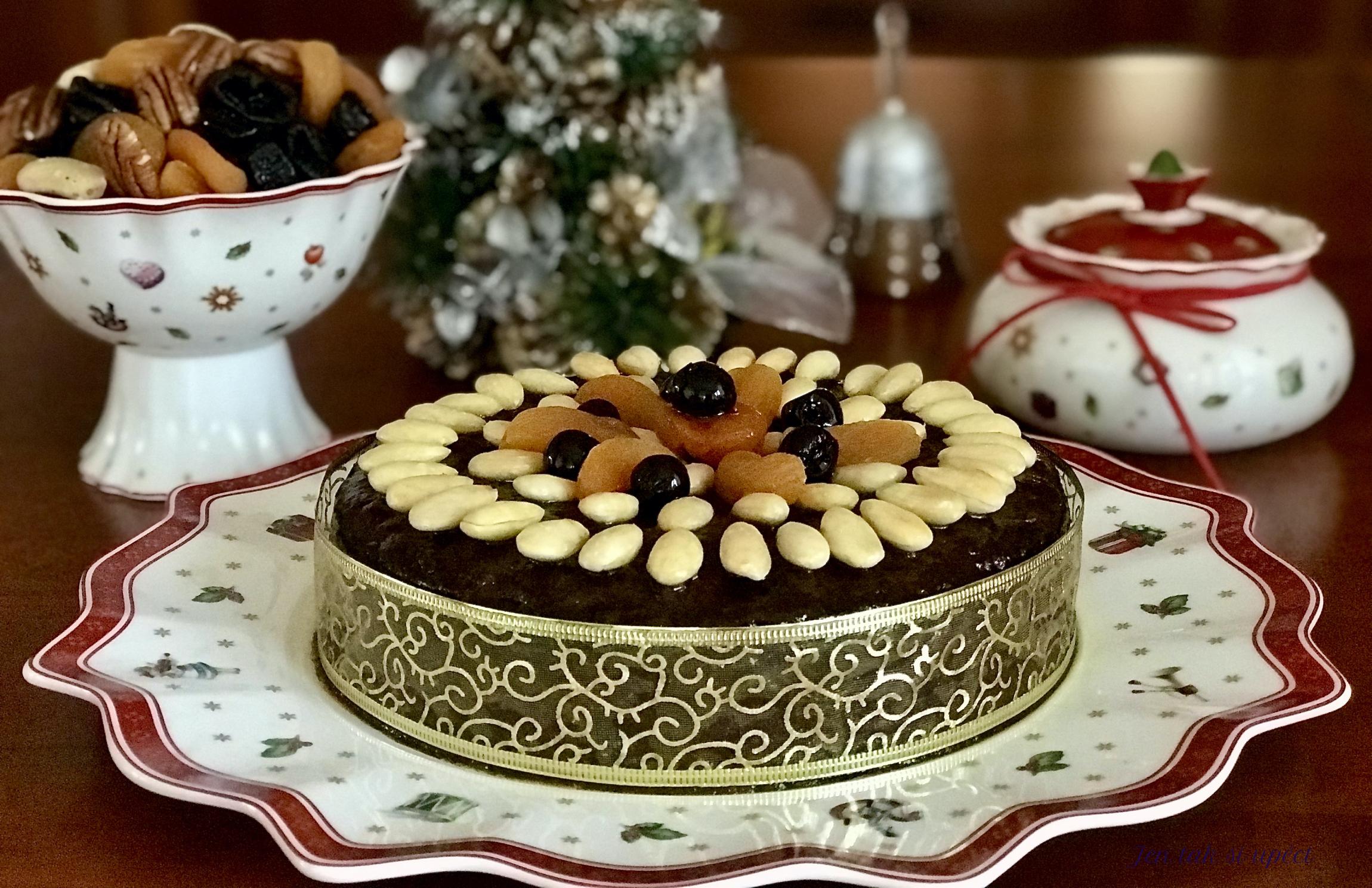 Christmas cake úvod