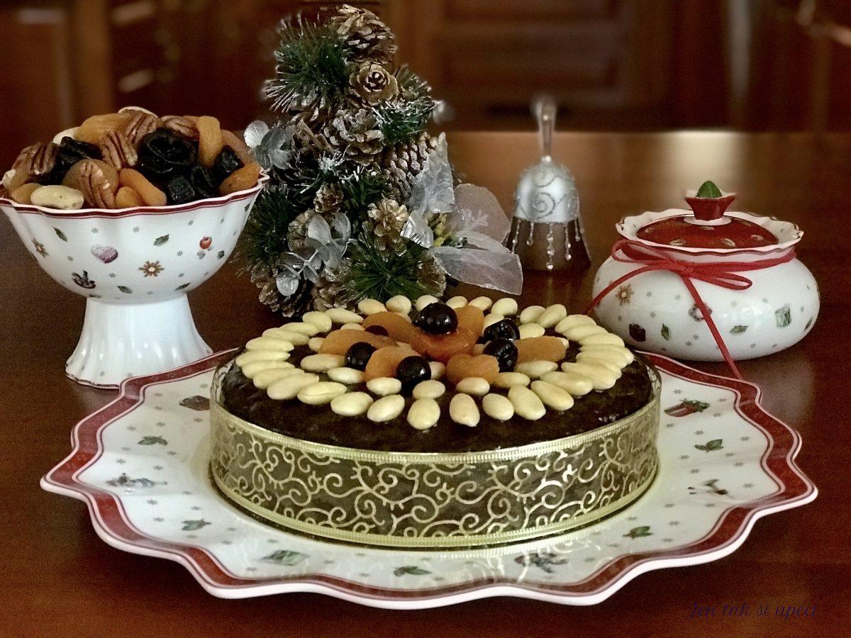 Christmas cake závěr