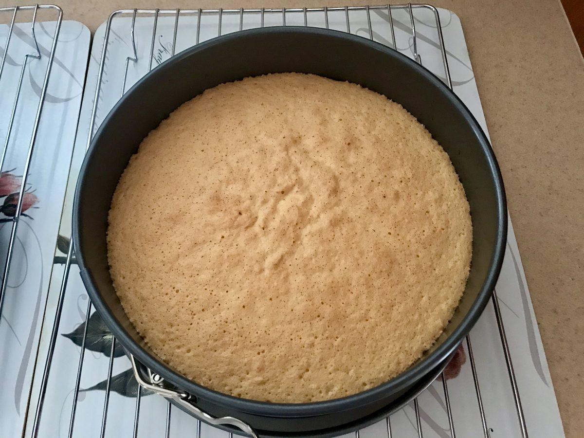 Dietka Vanilkové upečené těsto