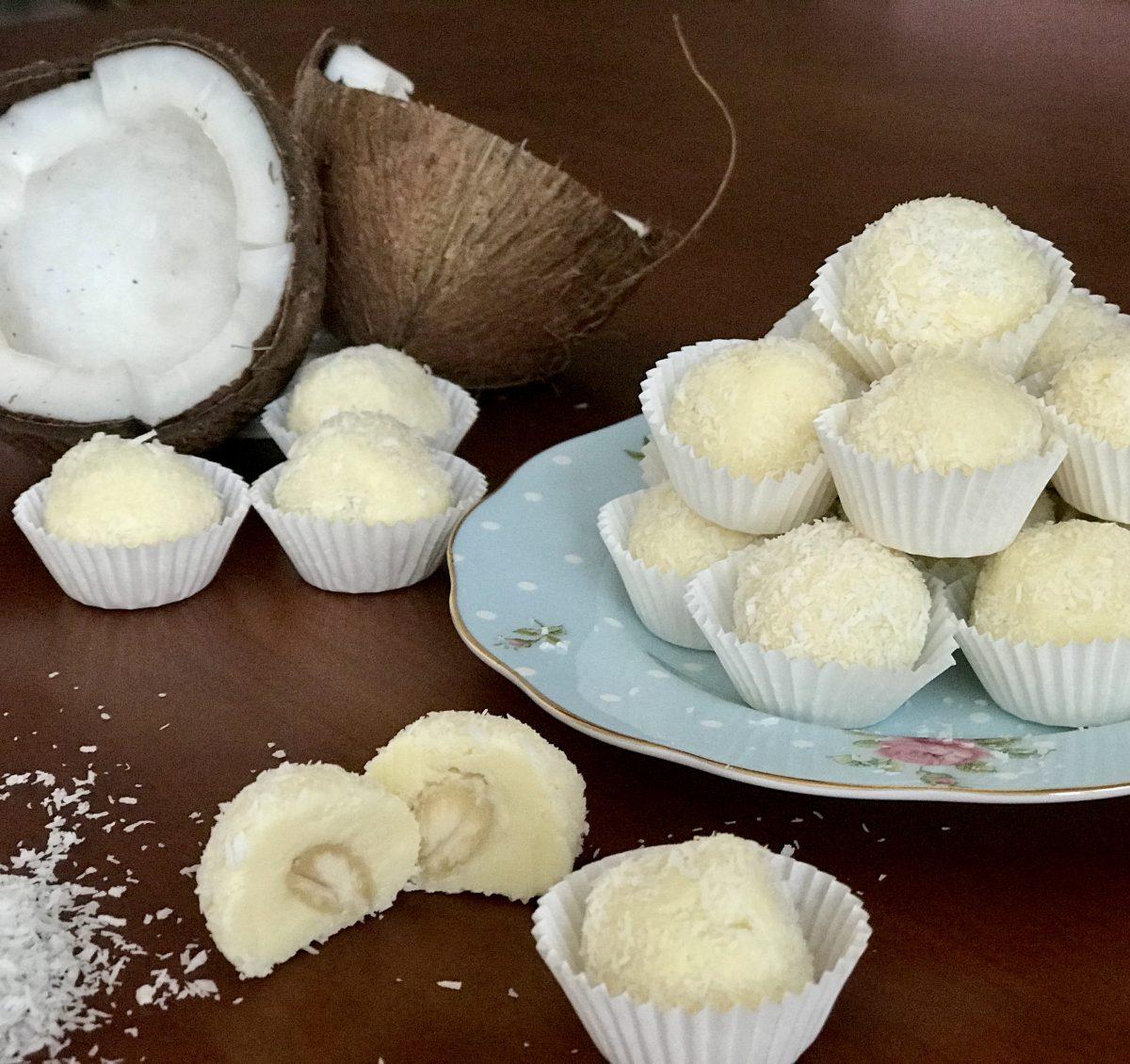 Lanýže z bílé čokolády 2