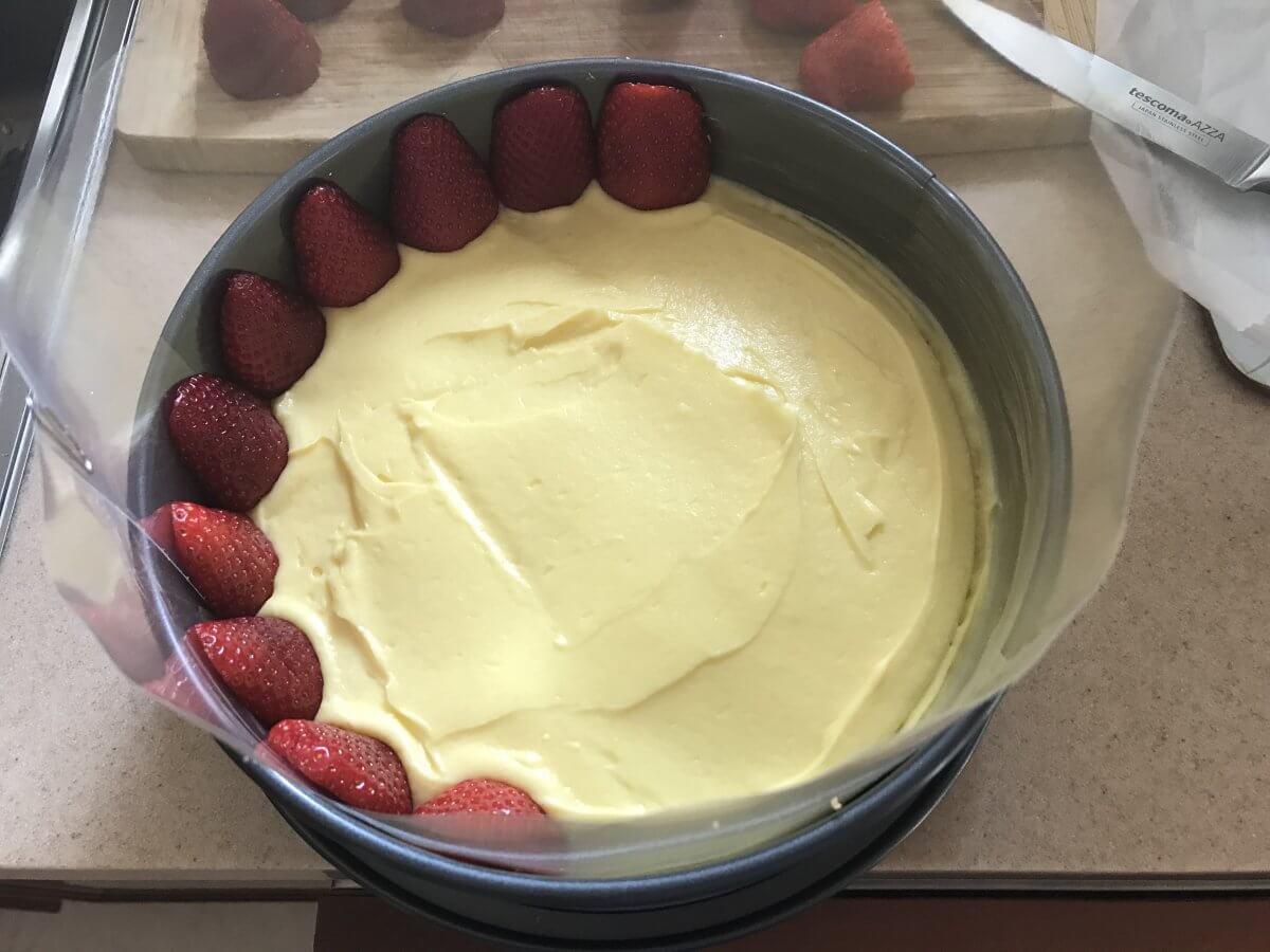 Pokládání jahod