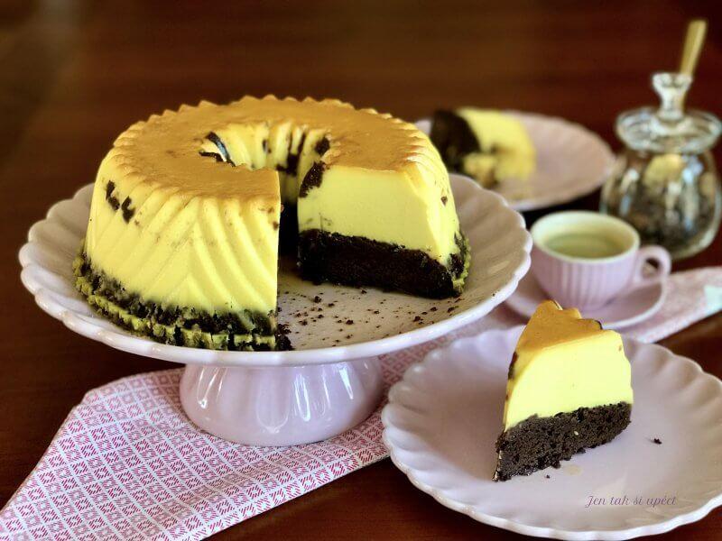 Chocolate Flan Cake pilot