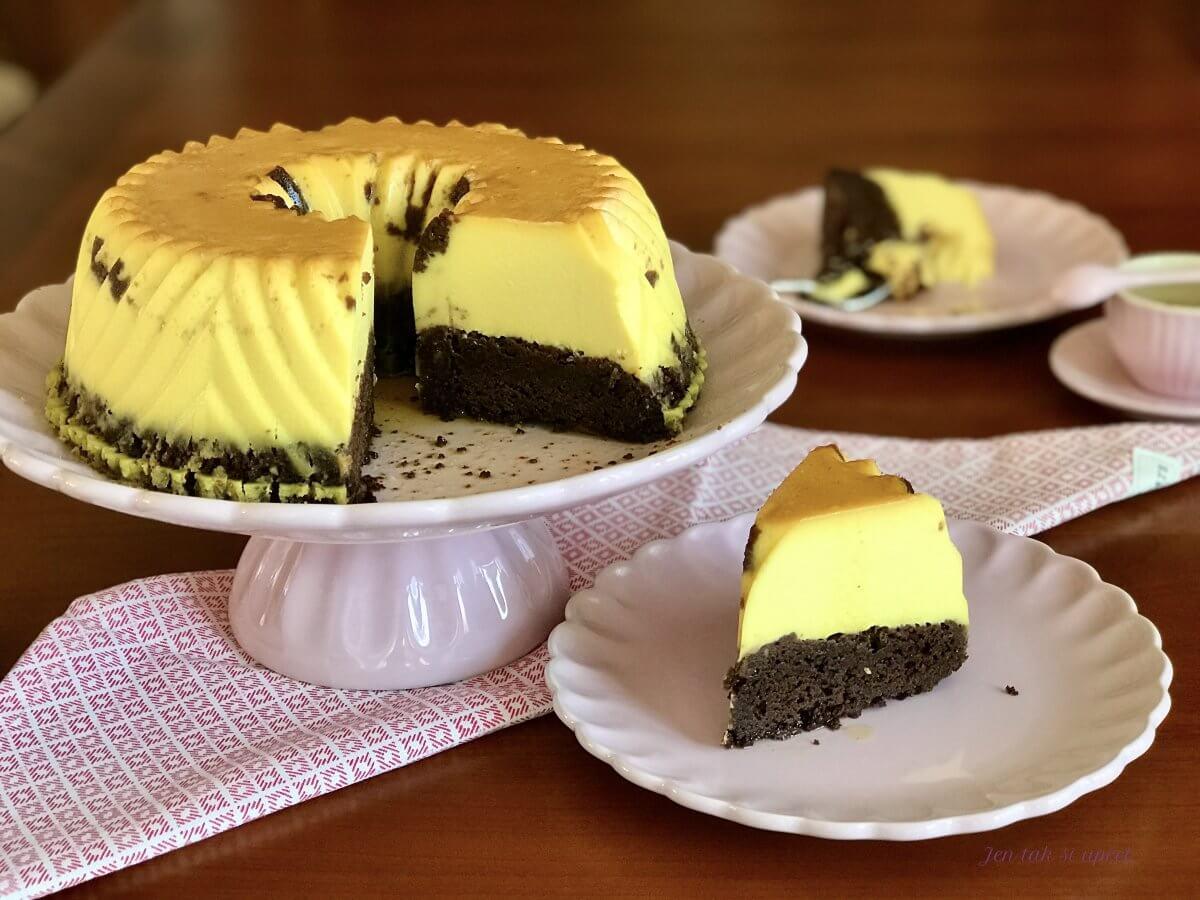 Chocolate Flan Cake úvod