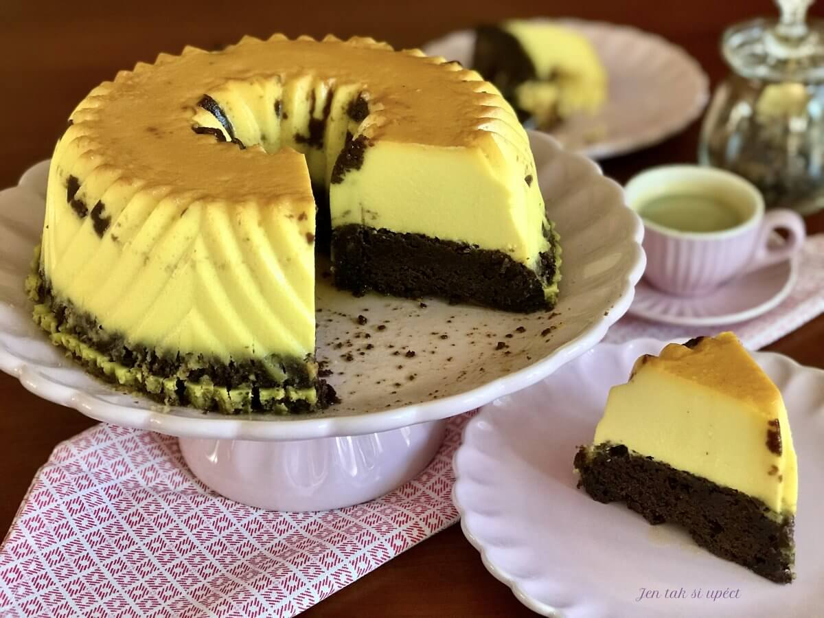 Cocolate Flan Cake závěr2