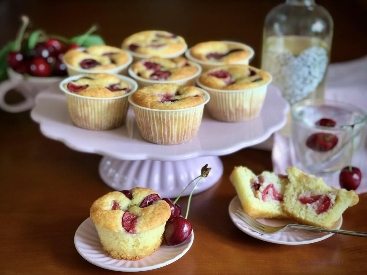 Muffiny s třešněmi úvod