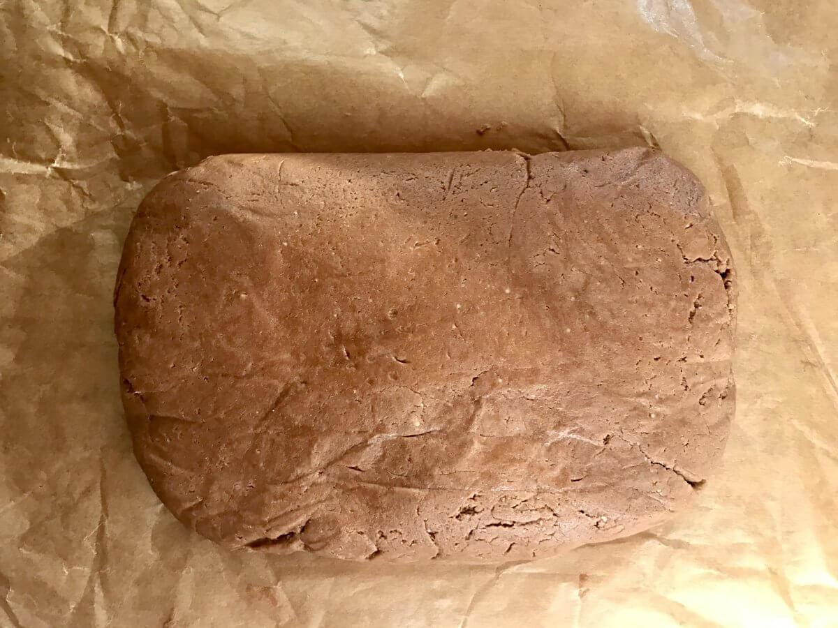 tartaletky broskev hotové čokoládové těsto