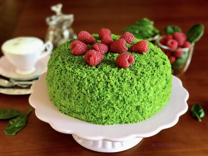 Mechový dort hlavní