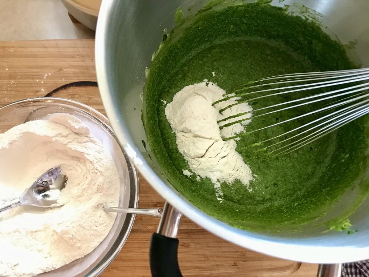 Mechový dort výroba těsta3