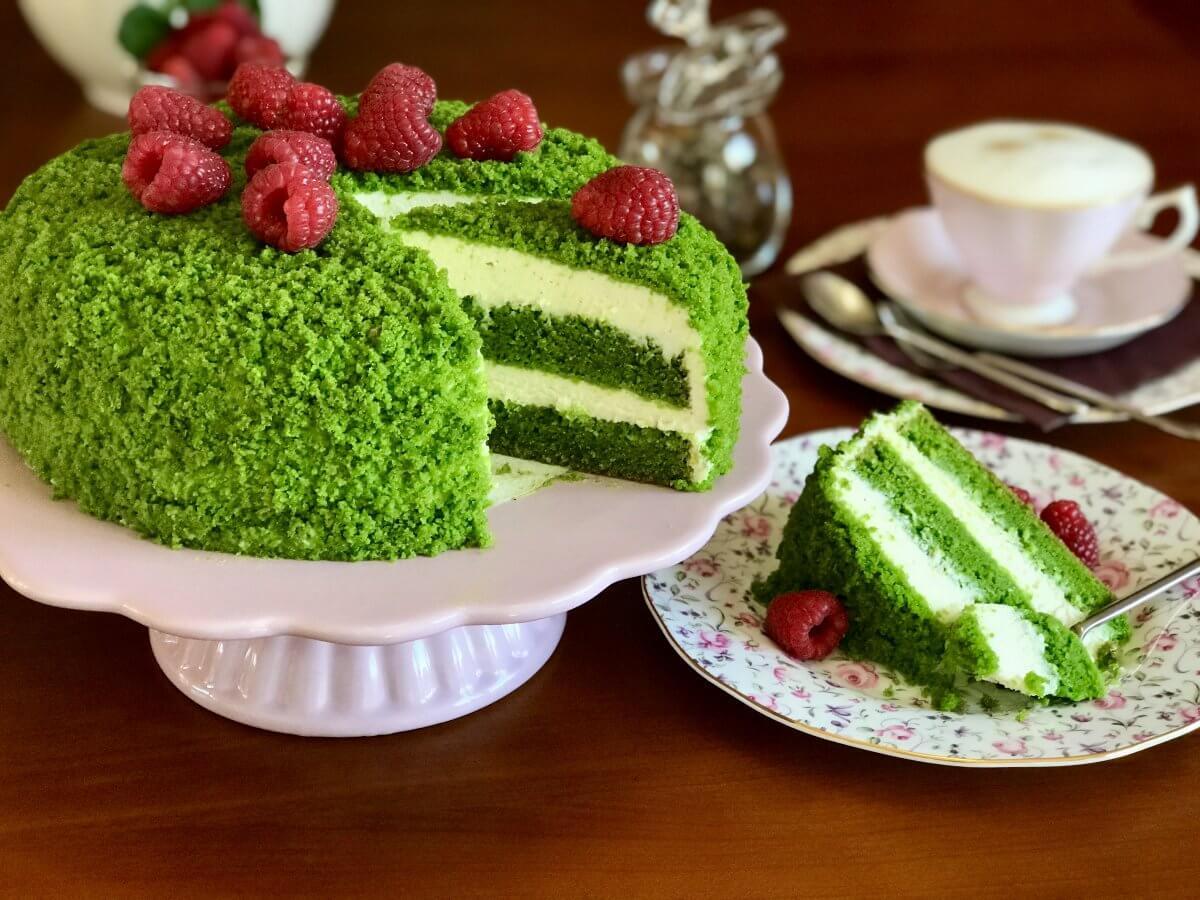 Mechový dort závěr3