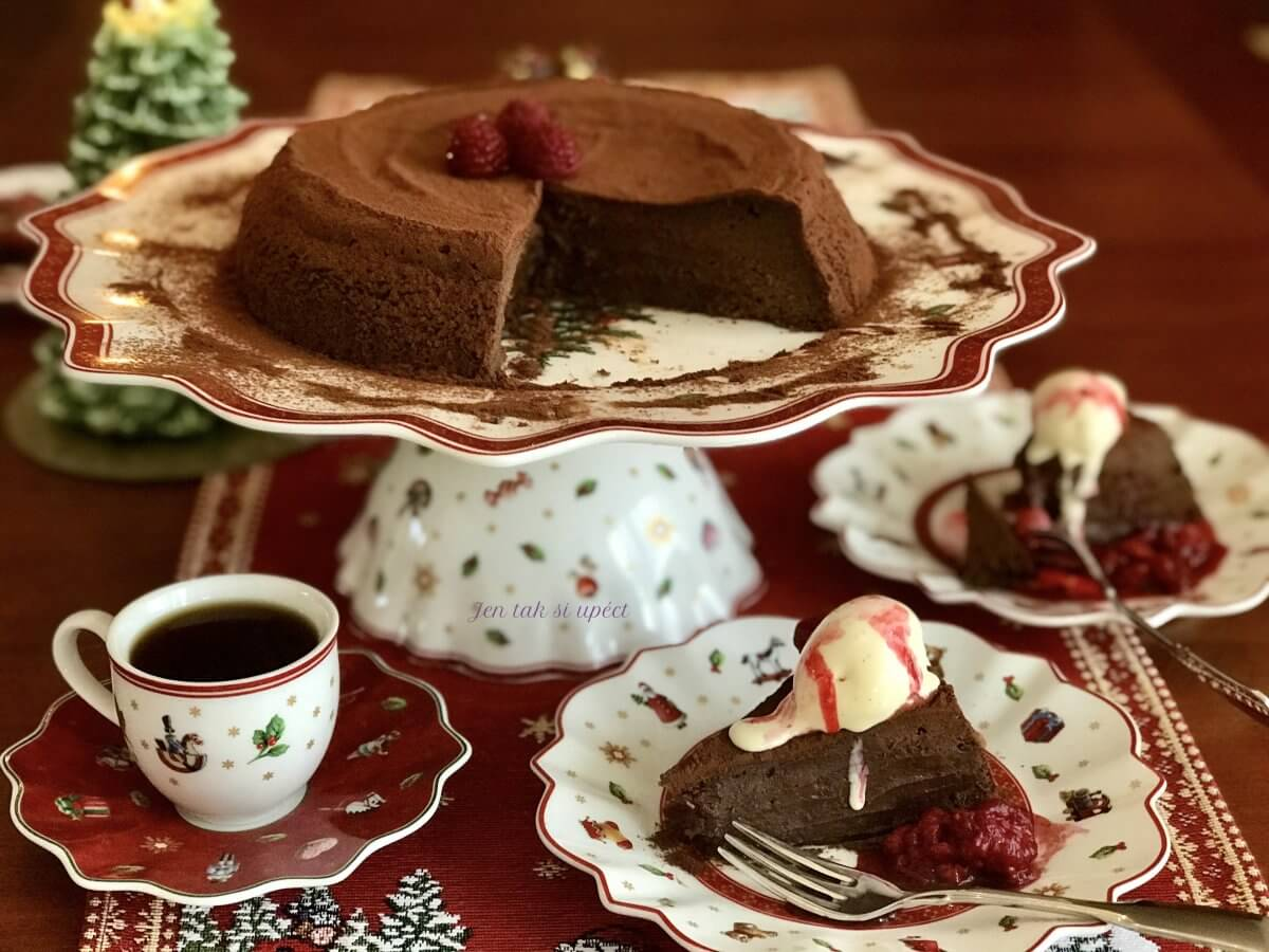 Ledový čokoládový dort úvod