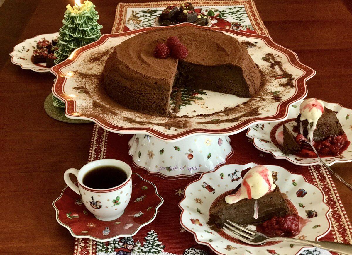 Ledový čokoládový dort závěr1