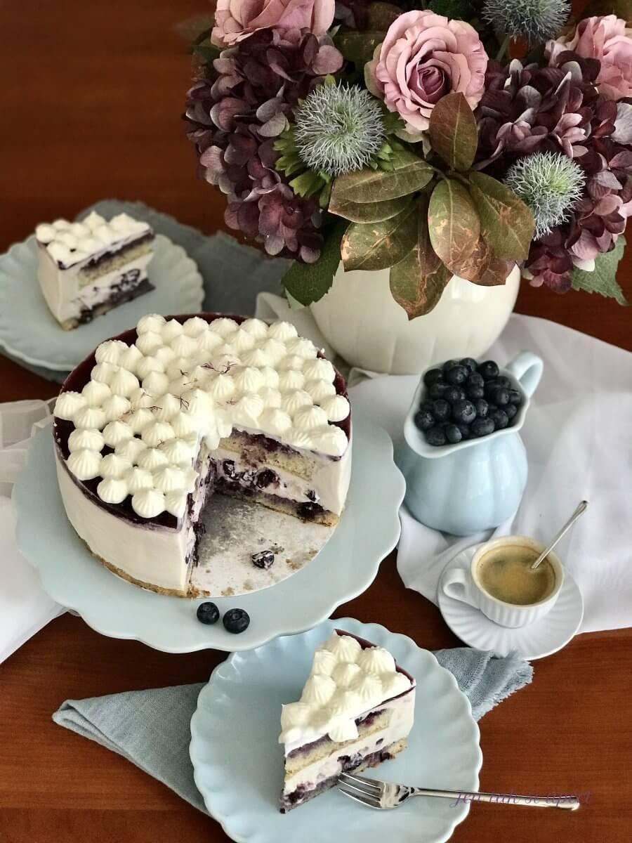 Vanilkový dort s borůvkama závěr 2