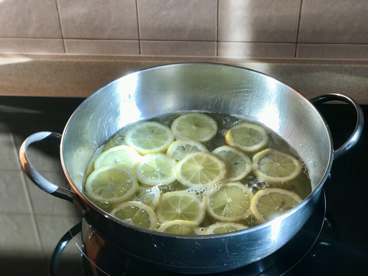 Kandování citrónů