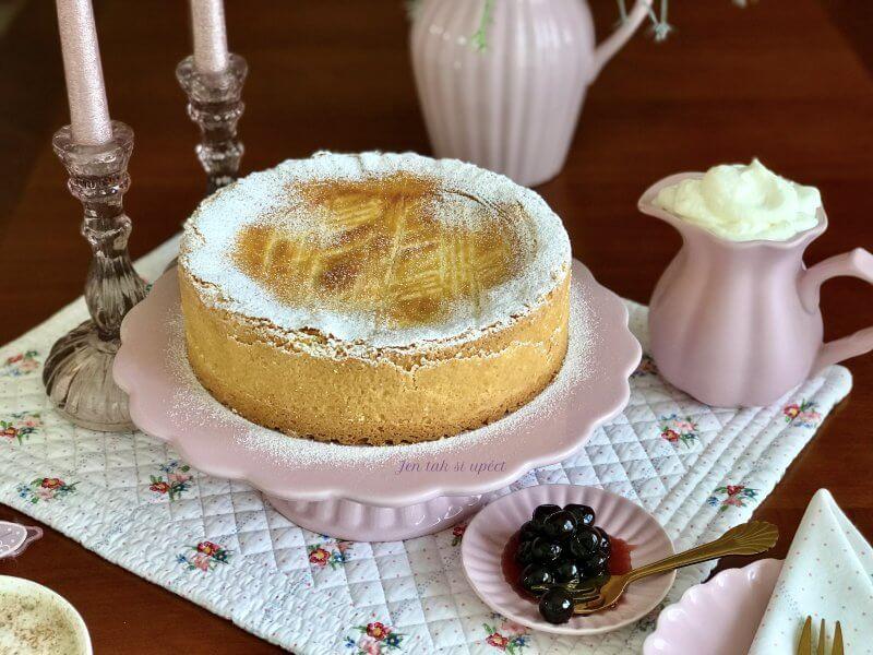 Baskický dort hlalvní
